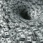 Dollars down the drain