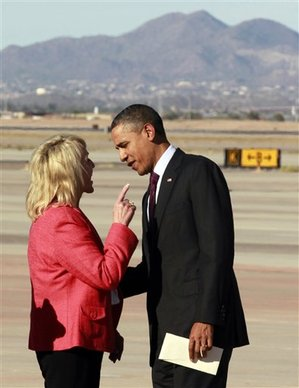 Jan brewer in AZ 012512