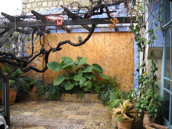 Courtyard in tzfat
