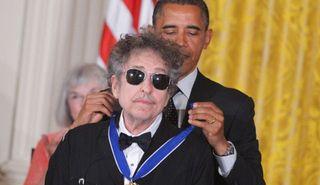 Bob dylan medal of Freedom