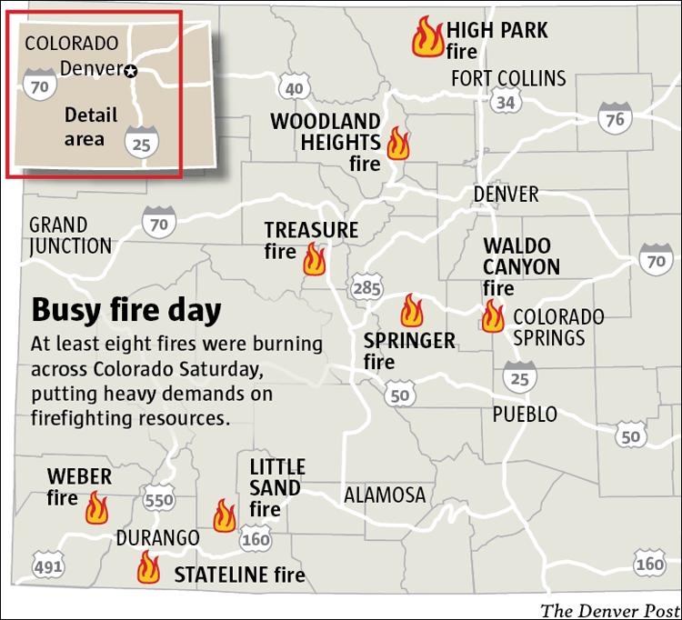 Colorado fires 062312