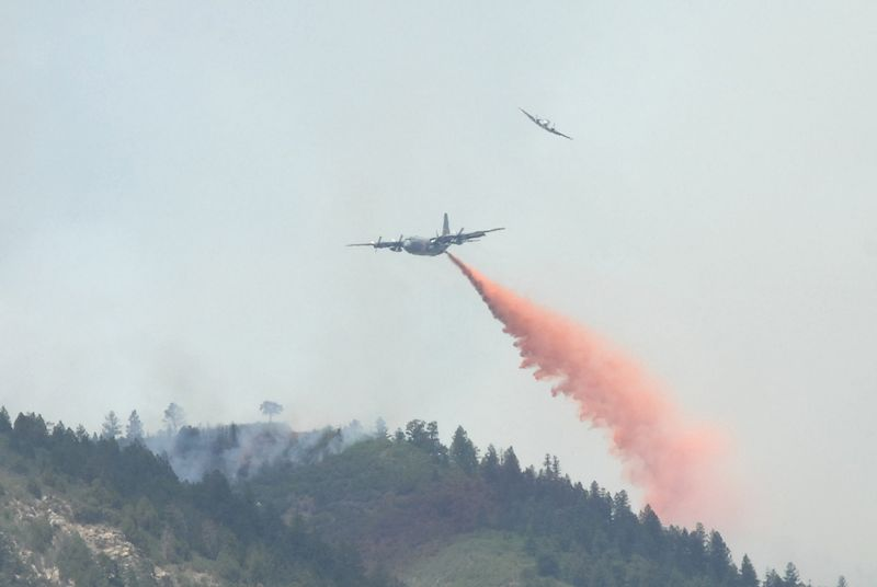 Firefighting C-130s