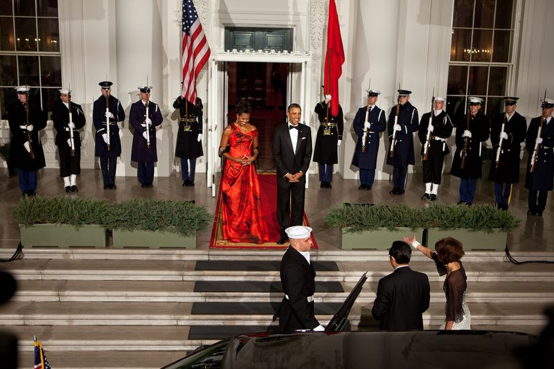 State dinner chinese pres WH