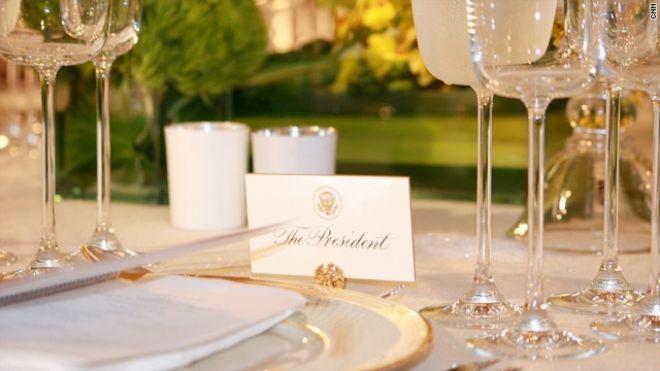 State dinner the president