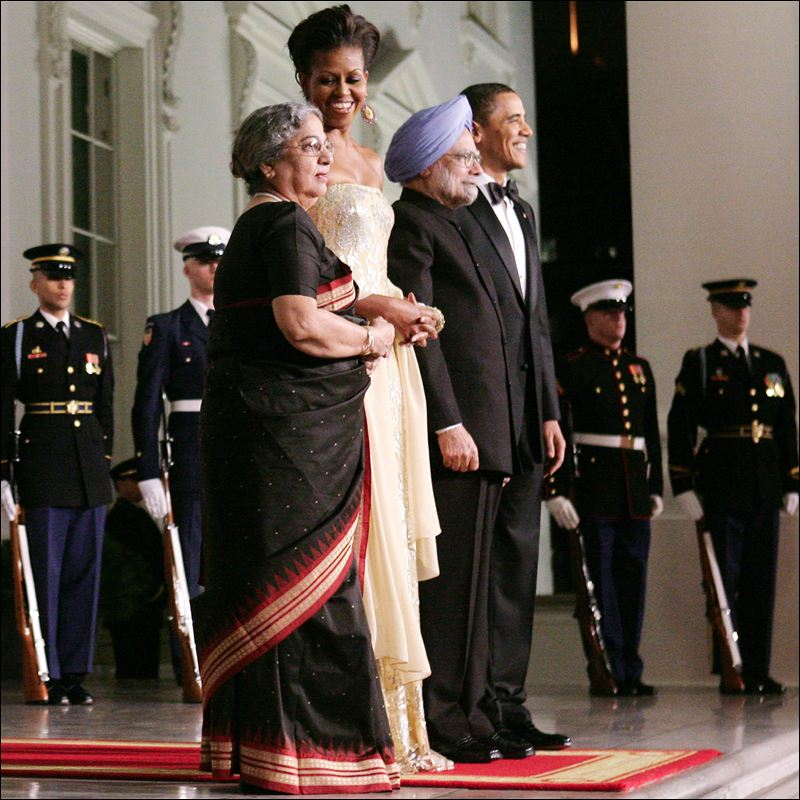 State dinner india two couples