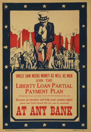 Uncle sam needs money
