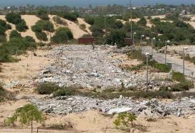 Ganei tal demolished