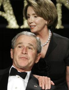 Bush w pelosi