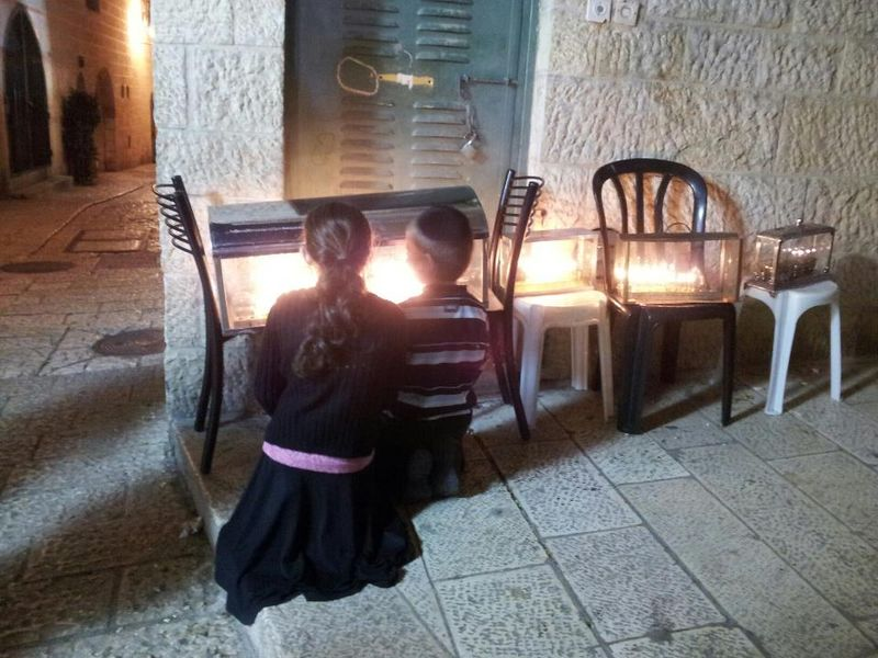 Chanukah in yerushalayim 2012 by cincy