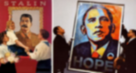 Portraits stalin obama copy
