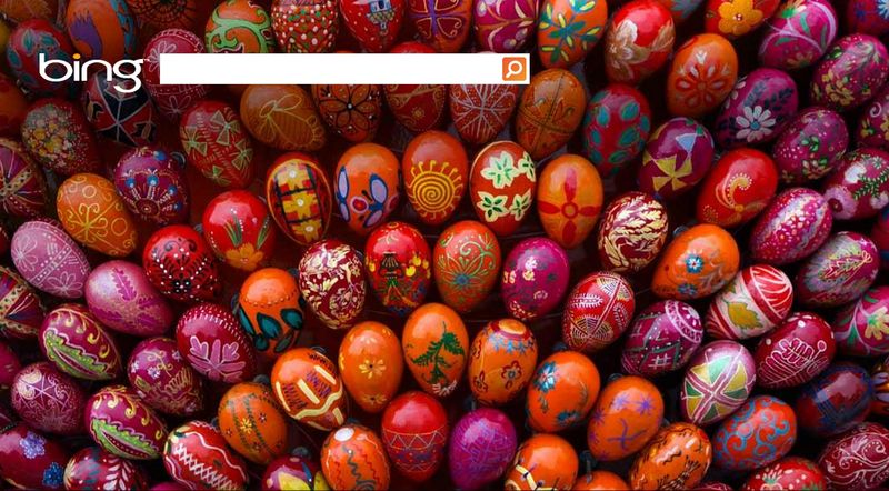 Easter 2013 Bing