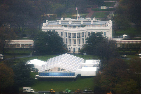 State dinner tent