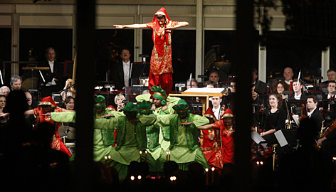 State dinner india entertainment