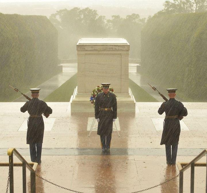 Tomb of the unknown soldier hurricane sandy