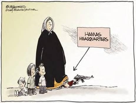 Cartoon hamas hdqtrs