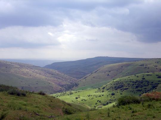 Golan view of the golan by benayahu