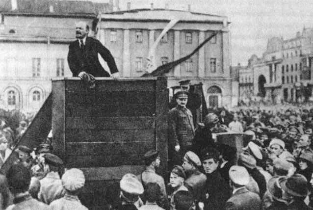 Lenin w trotsky
