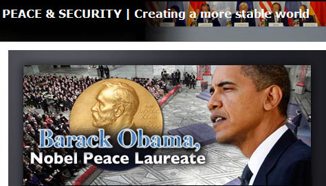 Nobel peace laureate america dot gov