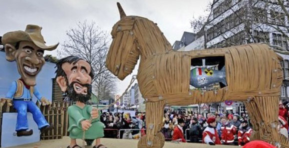 Cologne rose monday parade 02152010
