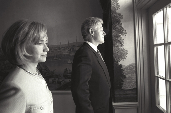 Before state dinner 1998