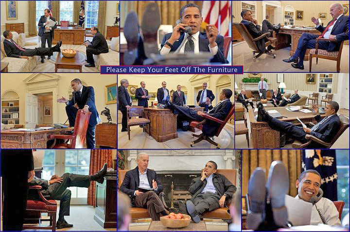 Feet on desk montage kkoffler
