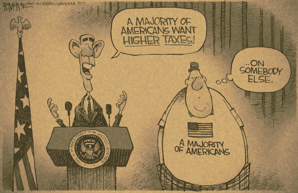 Americans want higher taxes