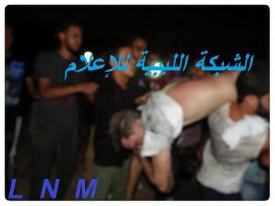 Amb Chris Stevens body