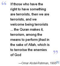 Blind sheikh quote