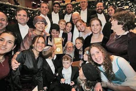 Robt aumann w family