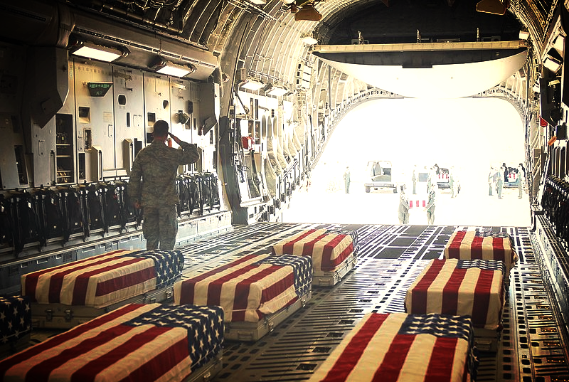 Fort Hood caskets to dover