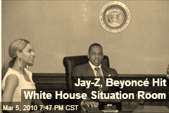 Jay Z Beyonce in the situation room