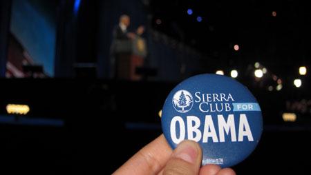 Sierra club button