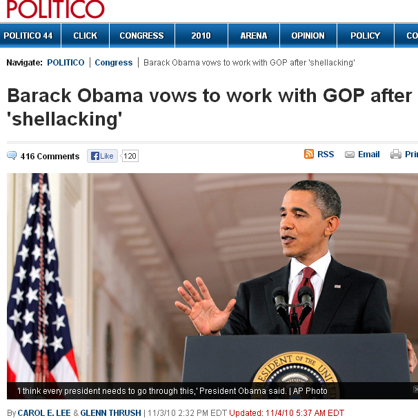Politico on 2010 SHELLACKING