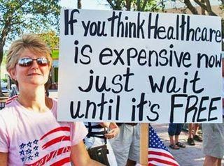 Obamacare just wait til its free