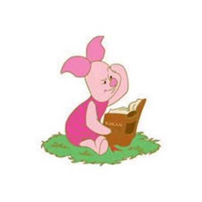 Piglet_w_book