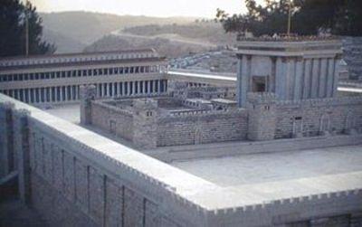Model_of_herods_temple_at_israel_mu