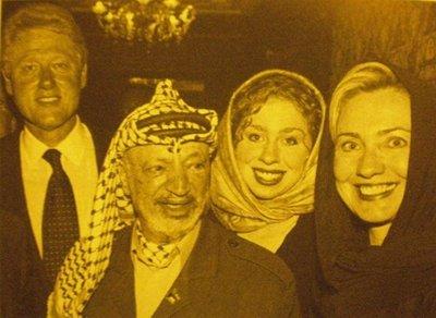 Clintons_w_arafat
