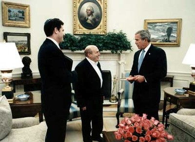 Bush_w_sharansky_and_dermer