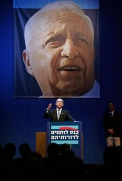 Olmert_in_the_shadow