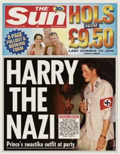 prince harry nazi photo scandal