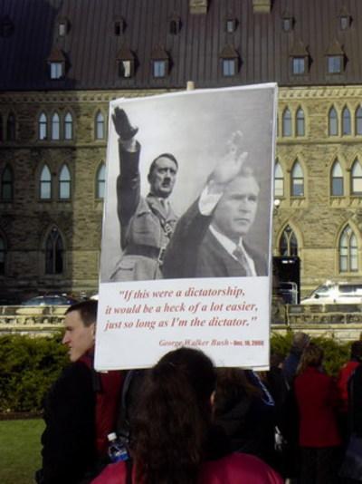 Protest_ottawa_heil_hitler_bush